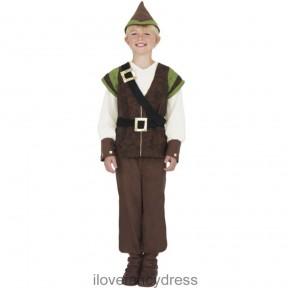 Boys Robin Hood Fancy Dress