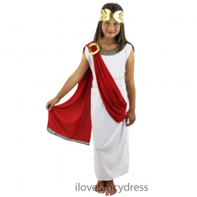 Child Goddess Costume Red Sash