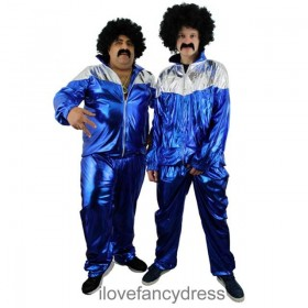80s Scousers Shell Suit Costume