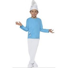 Boys Smurf Costume