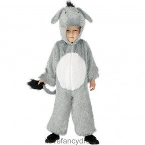 Childrens Donkey Onesie Costume