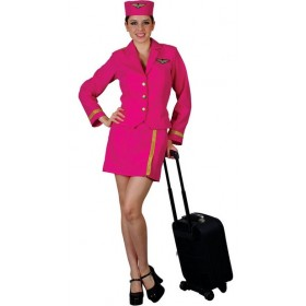 Air Hostess- Pink
