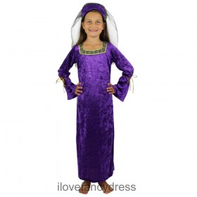 Purple Tudor Princess Costume