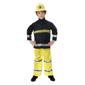 Boys Firemans Fire Chief Costume