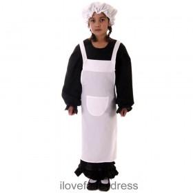 Girls Victorian Poor Girl Costume