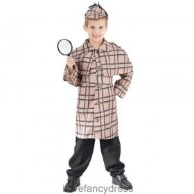 Child Victorian Detective Costume