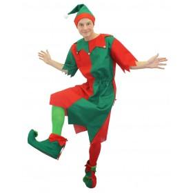 Mens Adult Elf Costume