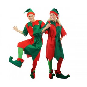 Adult Elf Costume - Tunic and Hat