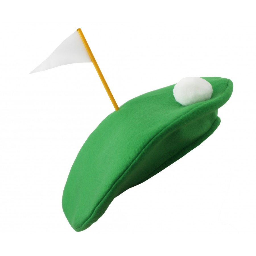 Crazy Golf Hats: Crazy Golfer Novelty Beret
