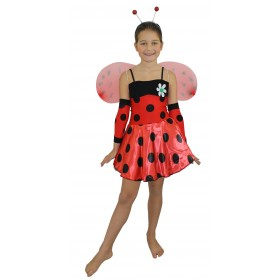 Girls Lady Bug Costume