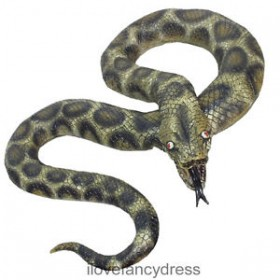 Latex Python Snake Prop