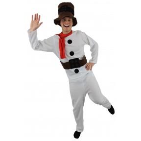 Budget Christmas Snowman Costume