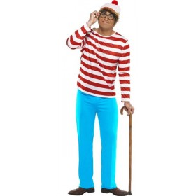 Adult Where's Wally Costume