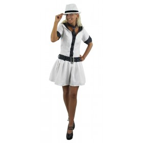 Adult Womens Gangster Moll Costume