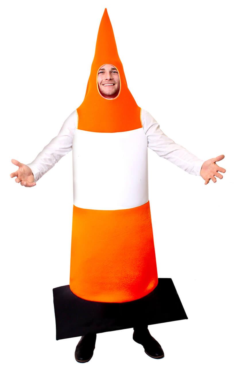adults traffic cone costume