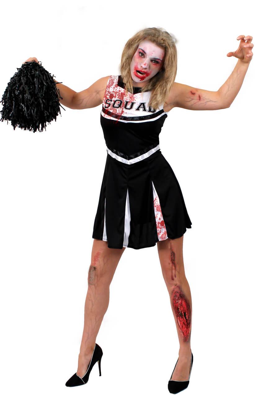 Black Zombie Cheerleader