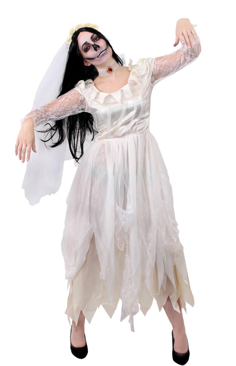 Ladies Ivory Corpse Bride