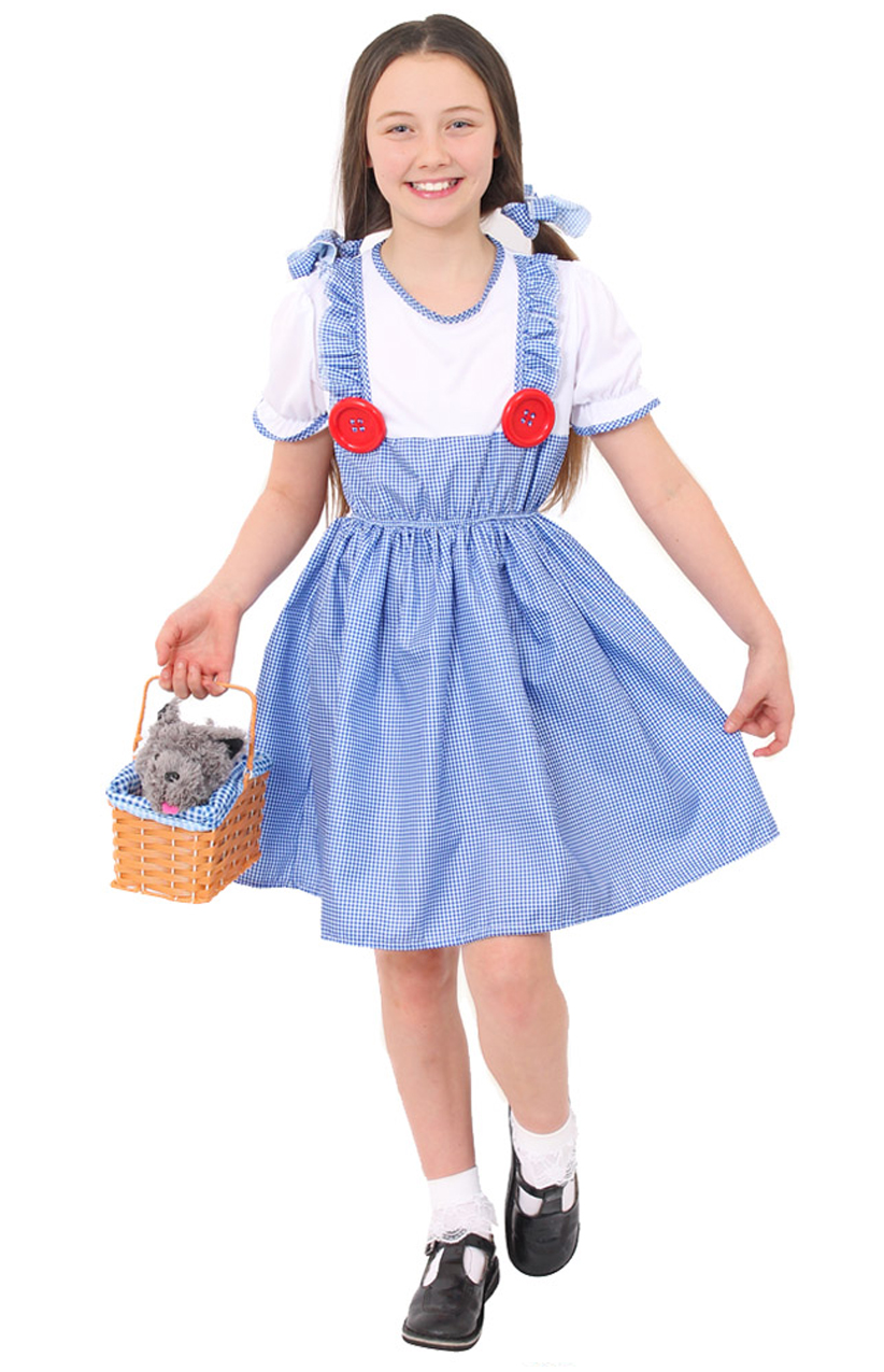 Girls 1940 1950 British School Girl costume kids Book Week Fancy Dress Outfit
