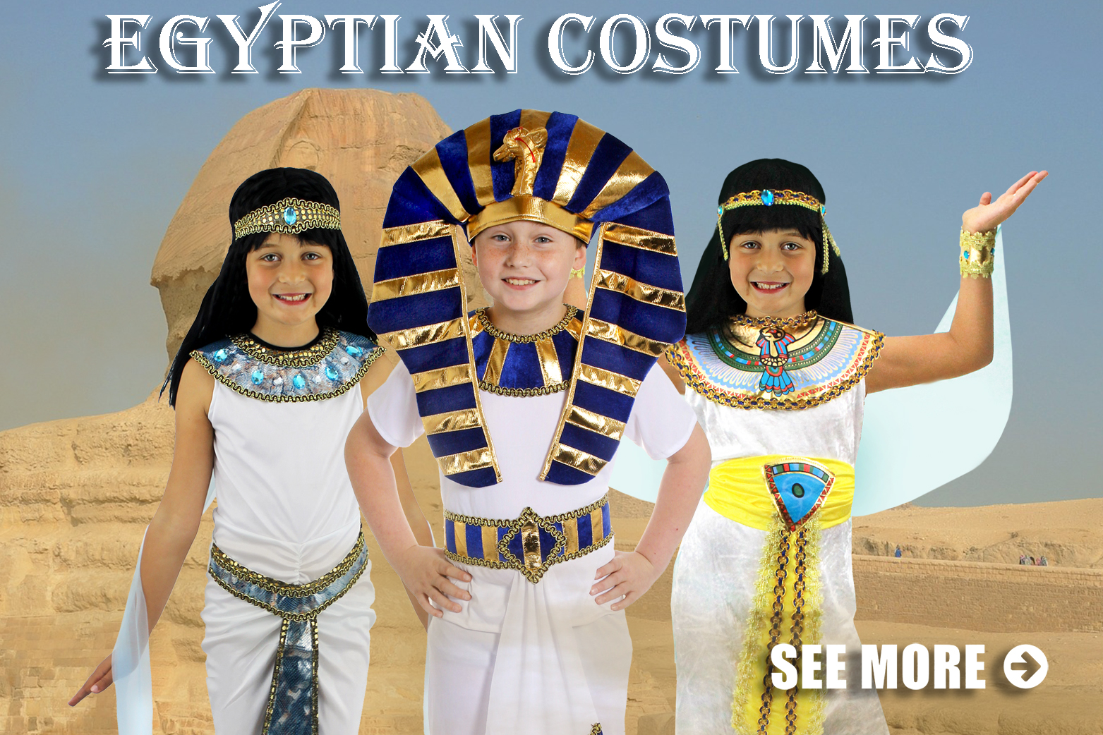 Egyptian costumes pharaoh