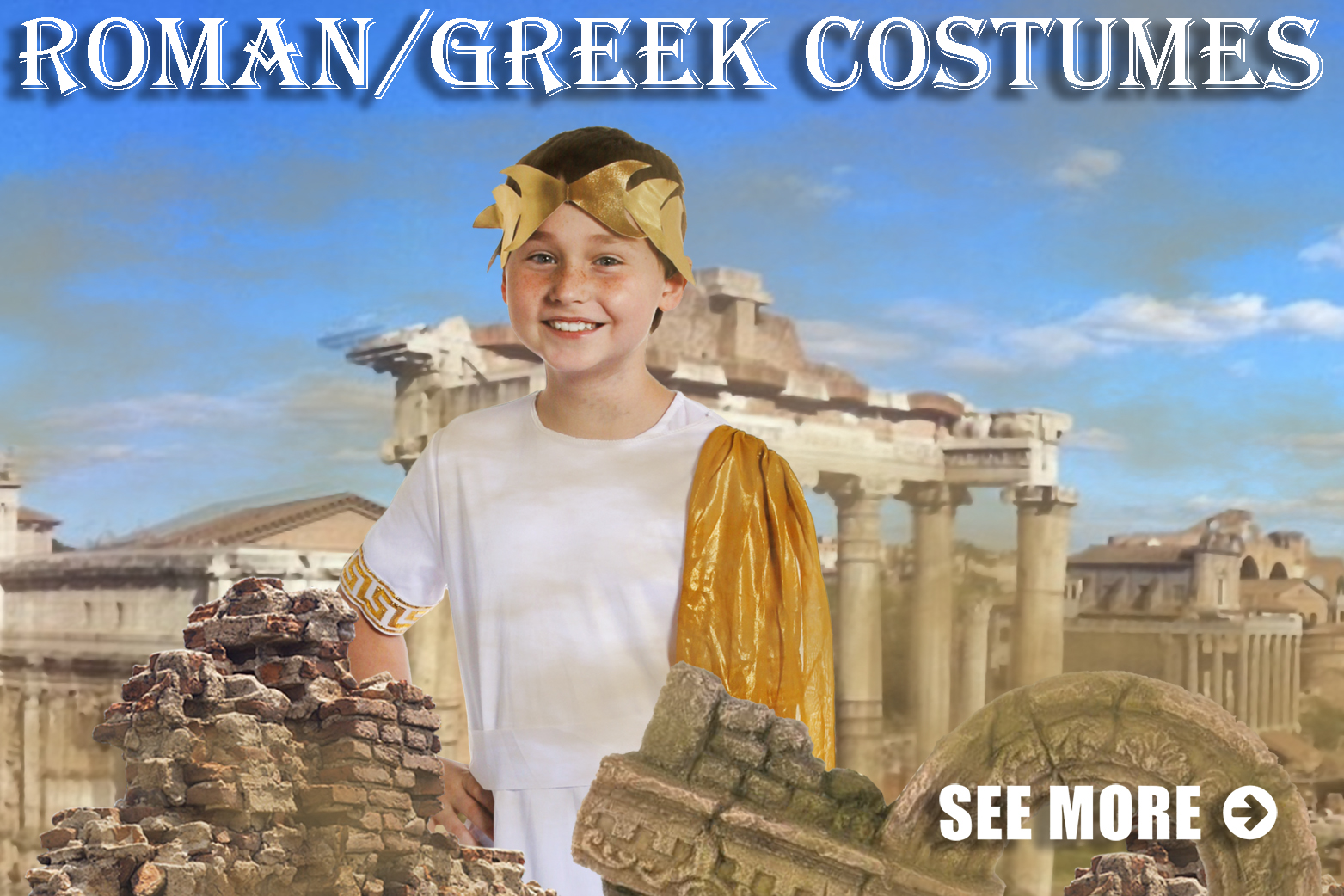 romans greek costumes