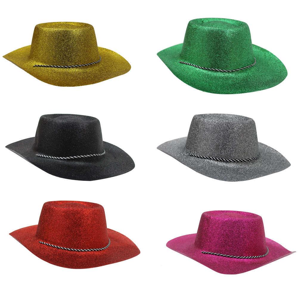 Glitter Cowboy Hat - I Love Fancy Dress b3429ded616b