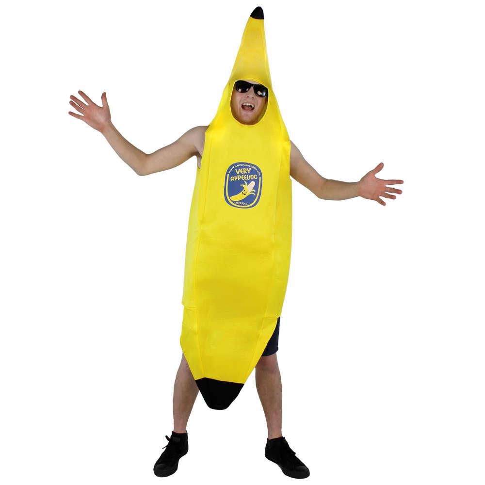 Adults Banana Costume I Love Fancy Dress