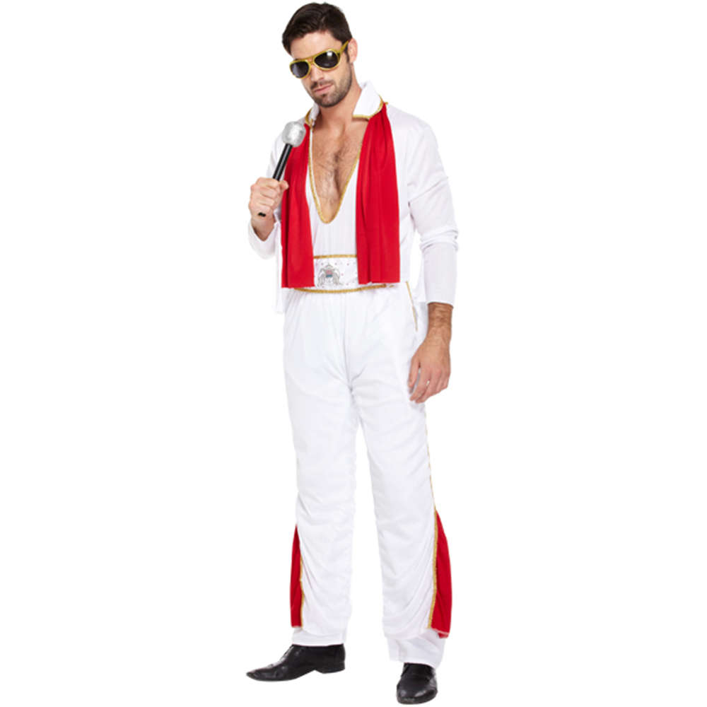 Mens King of Rock n Roll Costume - I Love Fancy Dress 204f00e9ba68