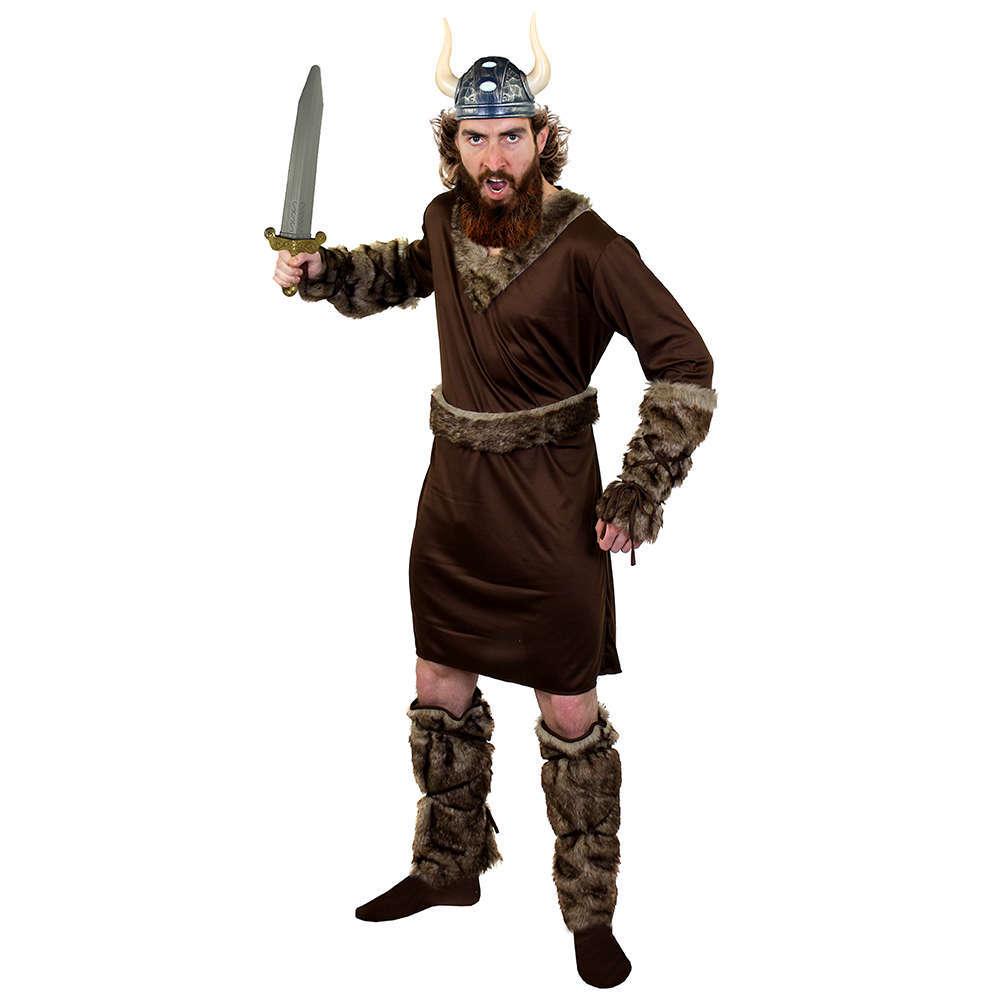86d77680 Adults Viking Costume with Viking Helmet + Sword