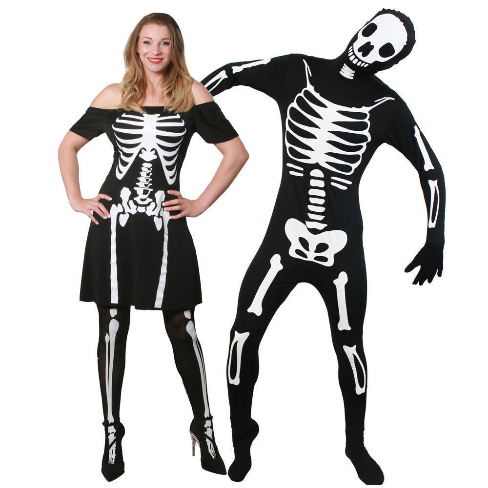 Couples Costume - Skeleton  sc 1 st  I Love Fancy Dress & Costumes Beginning with S