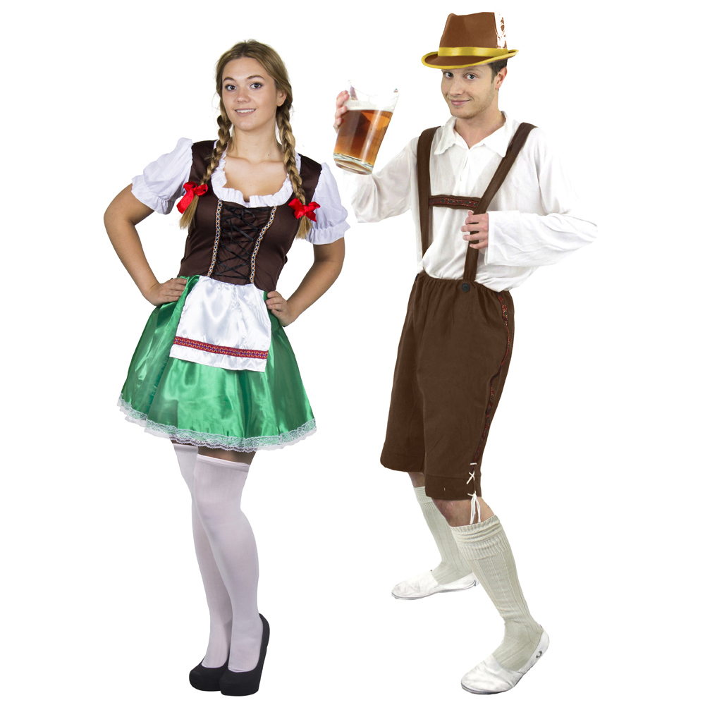 Couples Costume - Brown Bavarian  sc 1 st  I Love Fancy Dress & Couples Costume - Brown Bavarian - I Love Fancy Dress