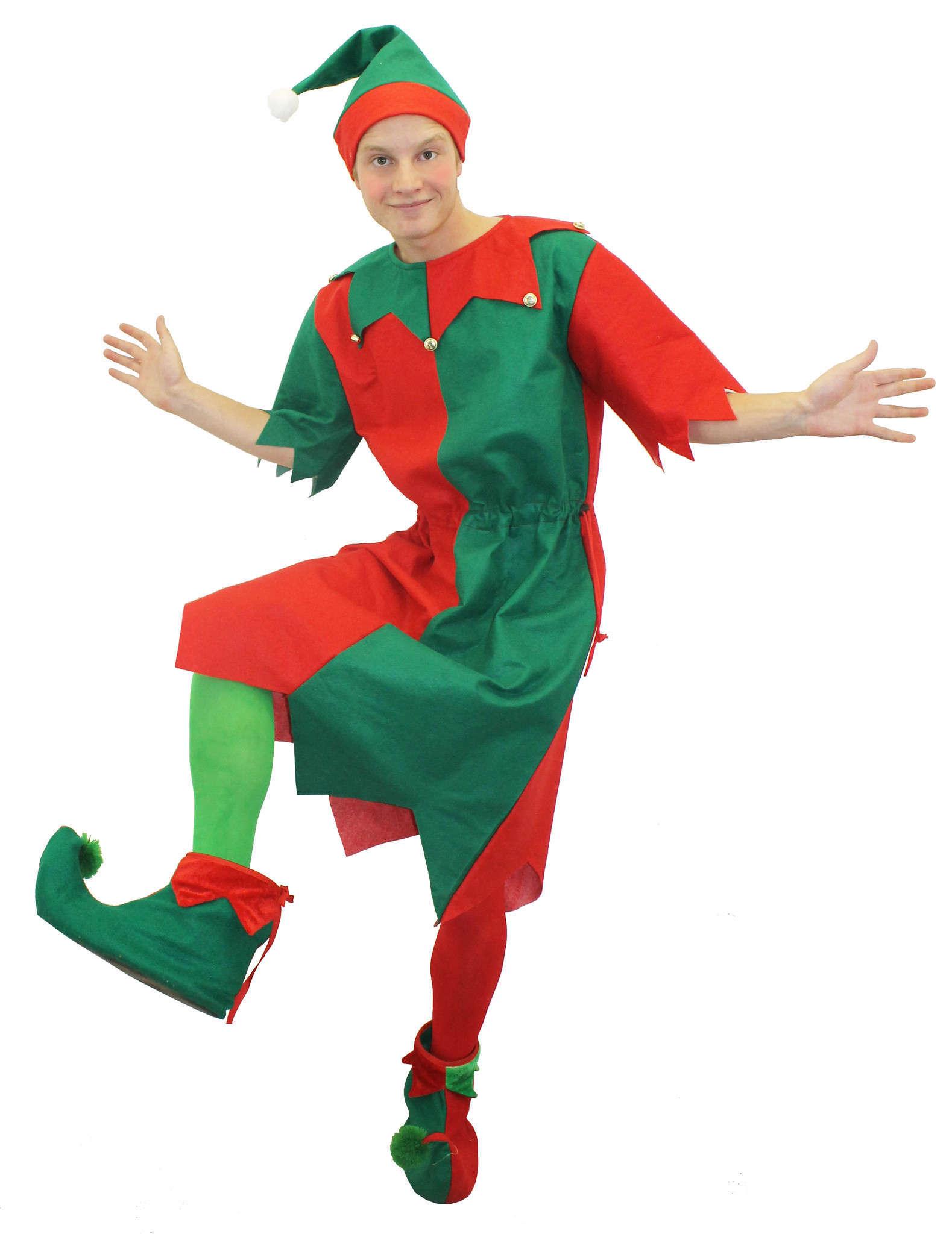 457554aa1932 Mens Adult Elf Costume - I Love Fancy Dress