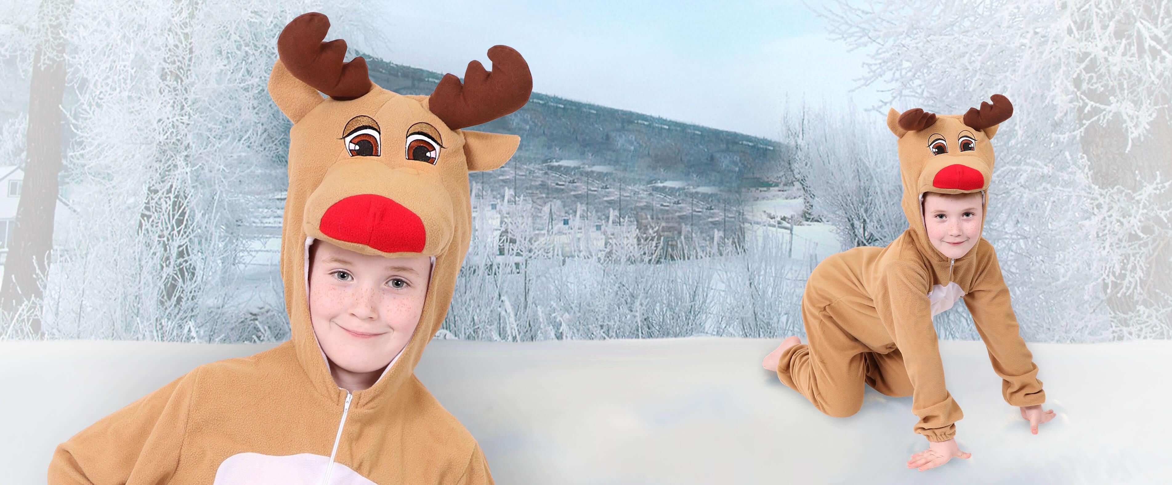 Kids Reindeer