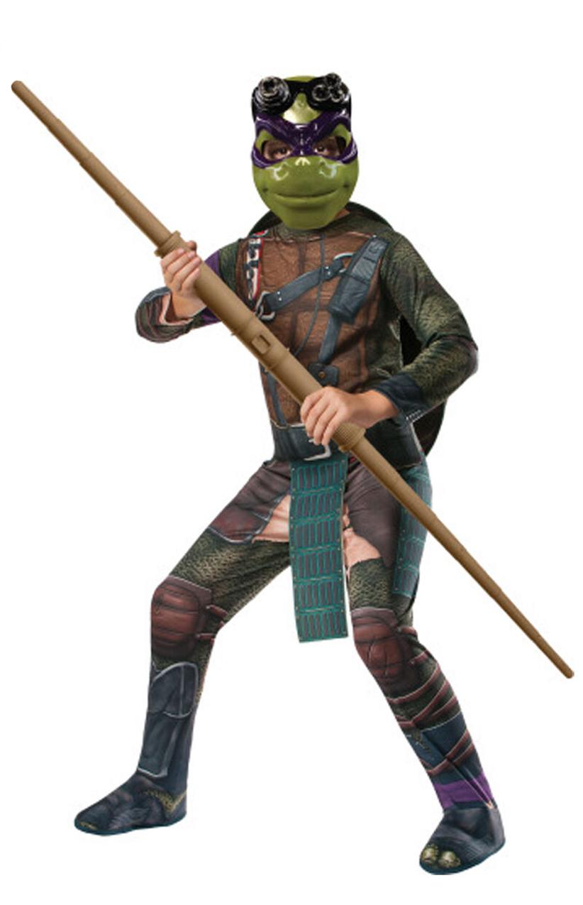 Childs Kids Teenage Mutant Ninja Turtles Donatello Fancy Dress I Love Fancy Dress